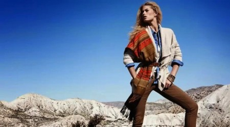 hm invierno doutzen kroes chaqueta lana