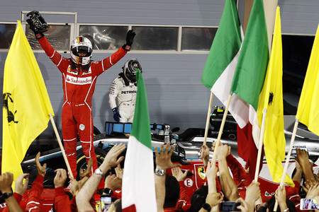 Vettel Victoria Bahrein