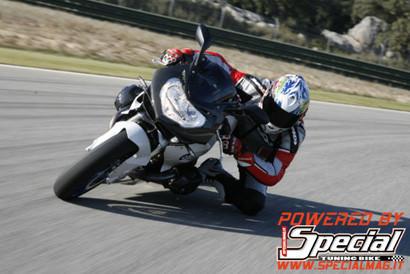 Prueba dinámica de la BMW HP2 Sport