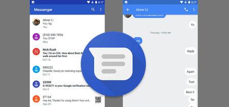 Google Messenger 2.0 se pone guapo para Android Nougat