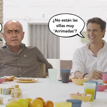 Jorge Javier Vázquez mete en la misma pandi a Kiko Matamoros y Albert Rivera porque han hecho match en su 'Frinder': el Tinder de friends que se acaba de inventar