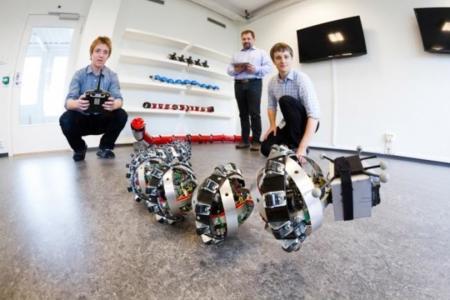 Una serpiente robot europea quiere tomar Marte