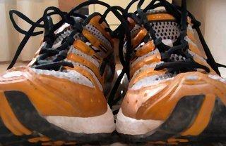 zapatillas gastadas
