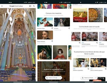 Google Arts Culture Maravillas Espana