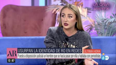 Rocío Flores narra su pesadilla con el usurpador de identidad de los famosos