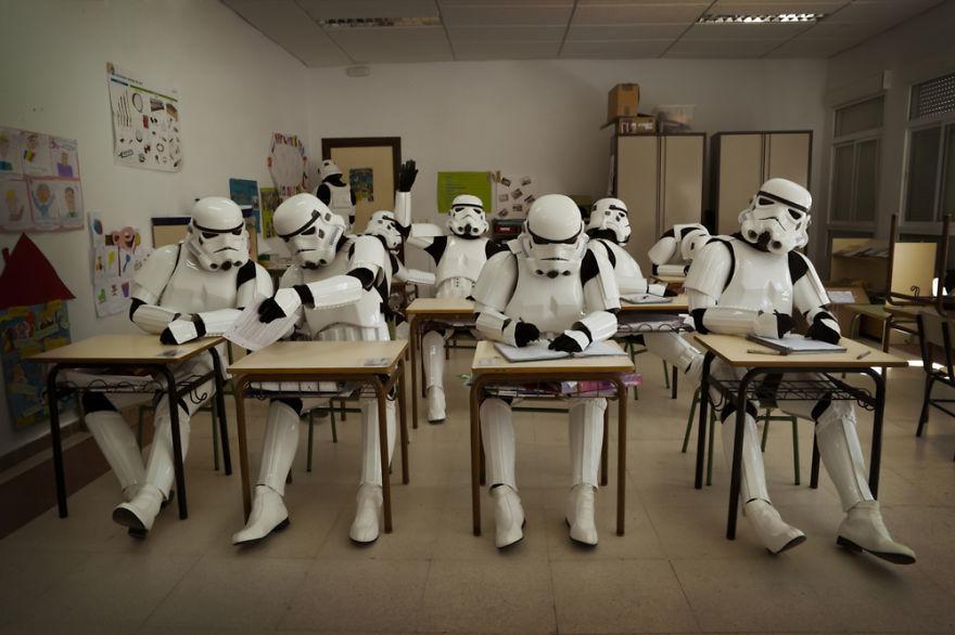Foto de El día a día de los Stormtroopers (2/16)