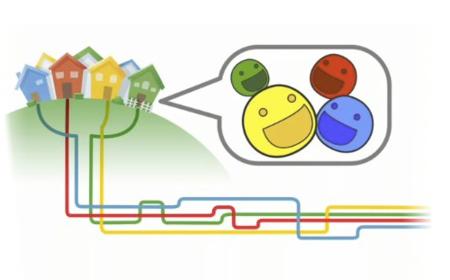 Google experimenta con la fibra óptica y juega con el negocio de las telecomunicaciones