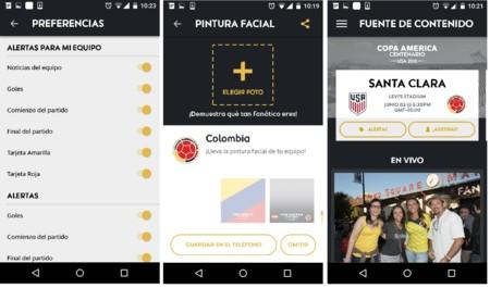 Copa America Centenario App Android
