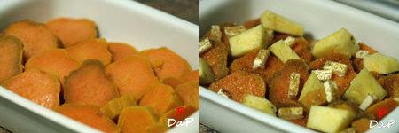 Hacer batatas caramelizadas