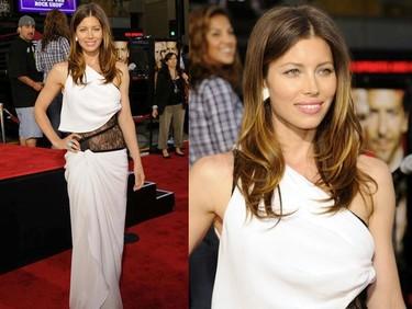 El mejor look de Jessica Biel en mucho tiempo, vestida de Emilio Pucci