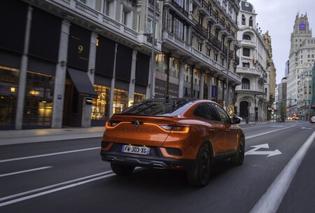 Renault Arkana E Tech 2021 Prueba 004