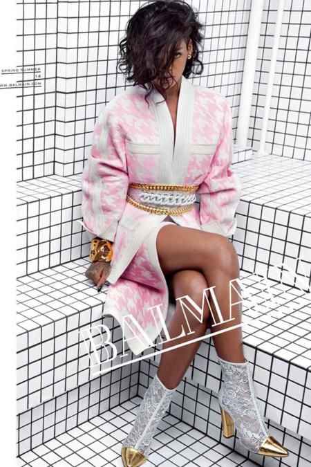 Rihanna Balmain 2014