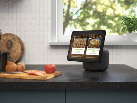 Echo Show 10 Cooking