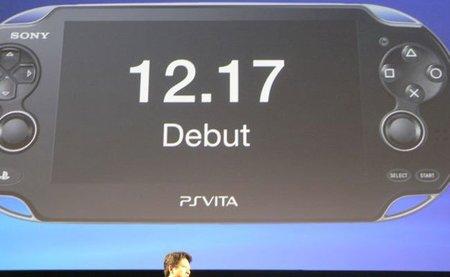 PS Vita: la nueva consola de Sony saldrá el 17 de diciembre en Japón [TGS 2011]