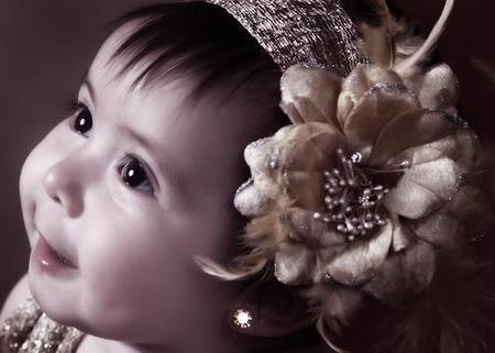 La foto de tu bebé: la coqueta Gaby