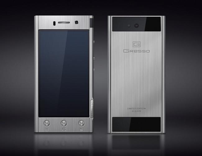 Gresso Radical R1, titanio y Android para un teléfono de lujo