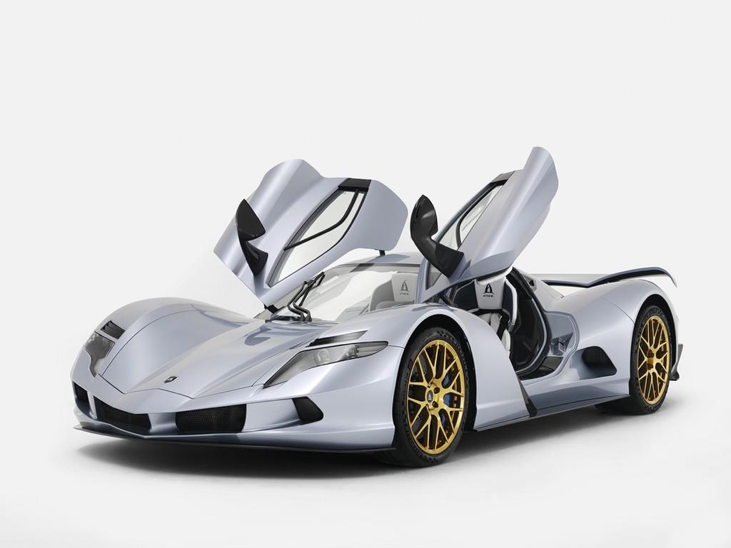 Aspark Owl EV, el hipercoche eléctrico japonés que busca batir todos los récords con su 0 a 60 mph en sólo 1,69 segundos