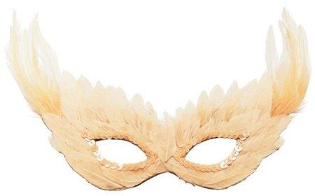 Antifaz de plumas de H&M para un fin de año a lo Lady Gaga