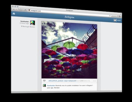 """Instagram ya permite comentar, marcar como """"me gusta"""" y ver fotos de amigos vía web"""