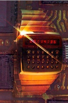 HP-01, reloj con calculadora de 1977