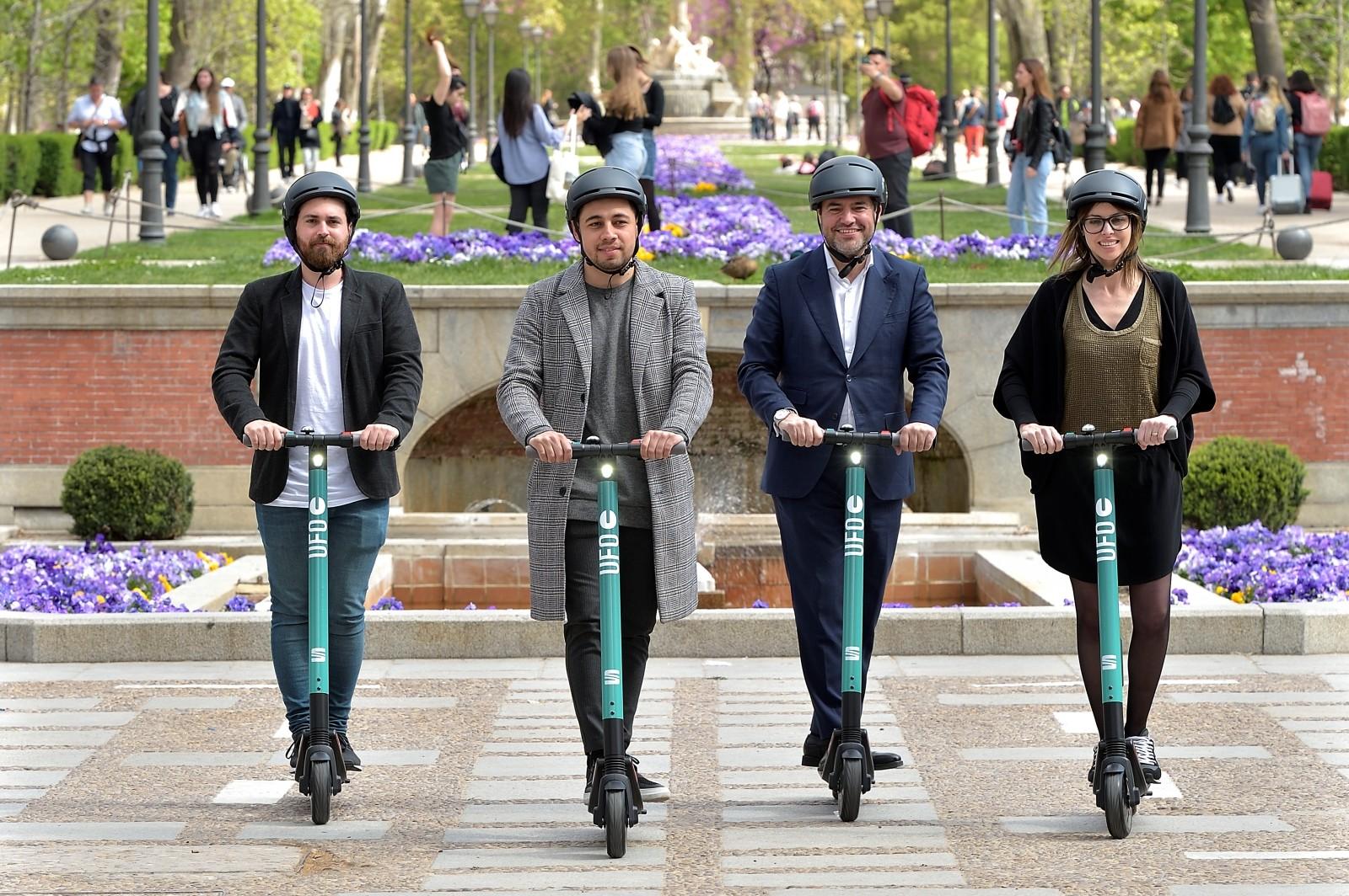 Foto de Nuevo servicio compartido de patinetes eléctricos de SEAT (2/13)