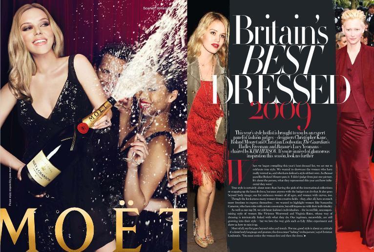 Foto de El Top 20 de las mejor vestidas de 2009 según Harper's Bazaar (1/9)
