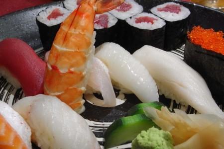 Las distintas variedades del sushi