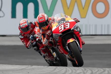 Marquez Dovizioso Austria Motogp 2019