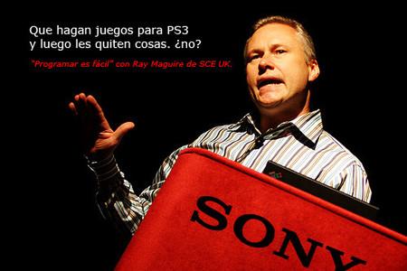 Los juegos se deberían hacer para PS3 y luego reducirlos para otras plataformas, Sony dixit