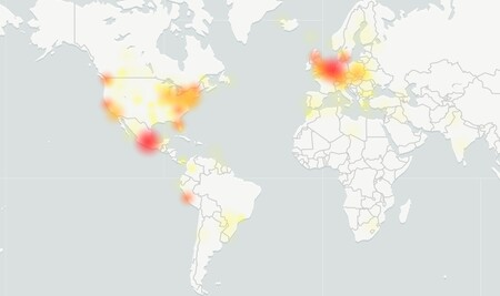 2020 12 17 20 03 30 Mapa De Fallos De Facebook Downdetector