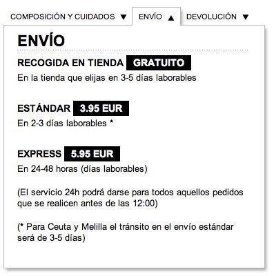 Zara estrena su tienda online. Envío
