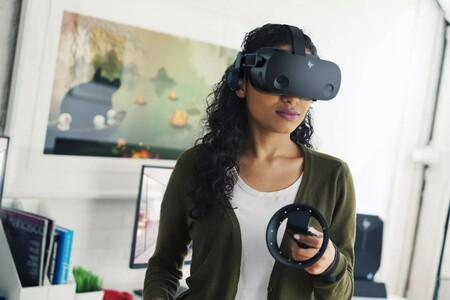 Realidad virtual en alta resolución 4K a 90Hz con las gafas HP Reverb G2 y dos controladores a su mínimo de 499 euros en Amazon