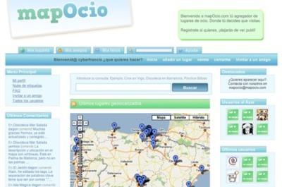 mapOcio, el agregador de lugares de ocio en España