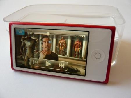 iPod nano 2012 pantalla