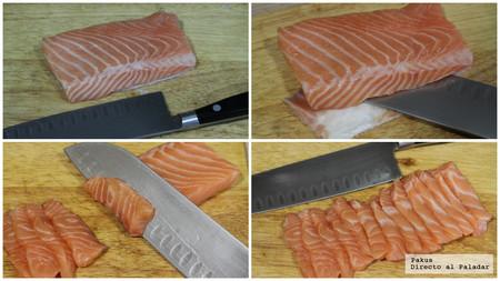 Sashimi Pasos Tecnica Y Truco