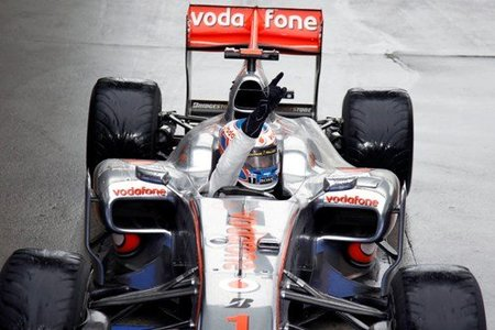 Jenson Button, vencedor del GP de China 2010
