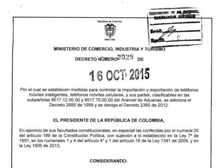 Decreto 2025