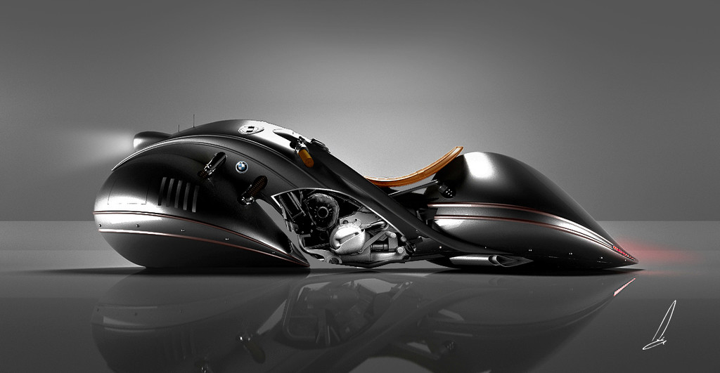 Bmw Orion Streamliner Concept