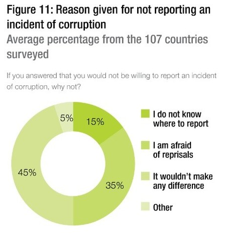 Transparency International Why dont report 2013