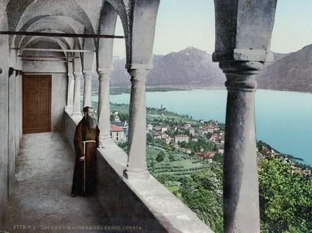 A View Of Locarno From The Madonna Del Sasso Church
