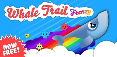 Whale Trail Frenzy, el juego de la ballena voladora ahora con versión gratuita para Android