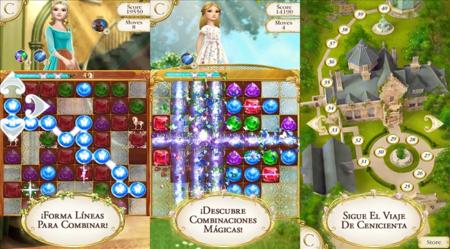 Cinderella Free Fall, un nuevo juego de puzzle de Disney llega a Windows Phone y Windows 8/RT