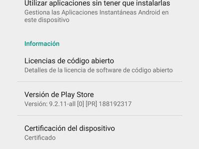Google empieza a bloquear sus apps en dispositivos sin certificar, con excepción para usuarios de ROMs