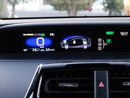 Consumo Prueba Toyota Prius 2016 Detalles Interiores