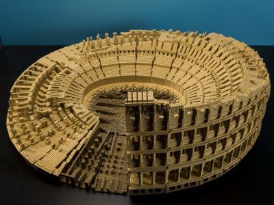 Visita los principales monumentos del mundo con estas reproducciones de Lego®