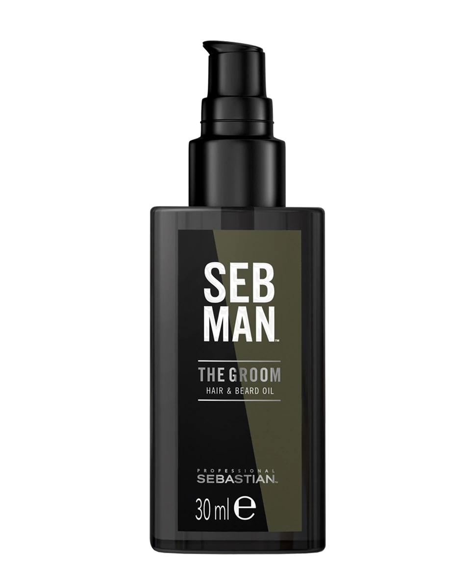 Aceite para barba Seb Man Hair & Beard Oil The Groom 30 ml Sebastian Professional