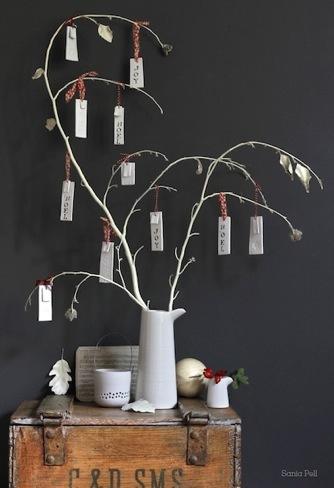 Un árbol de los deseos para Navidad