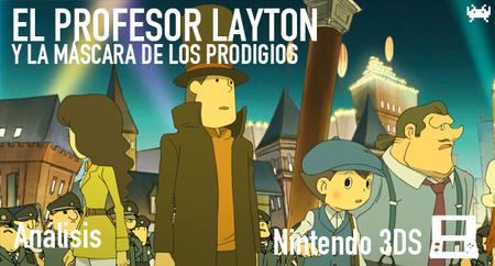 'El profesor Layton y la máscara de los prodigios' para Nintendo 3DS: análisis