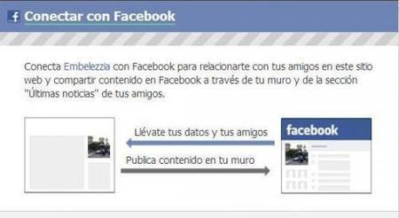 Conéctate a Embelezzia con tu cuenta de Facebook