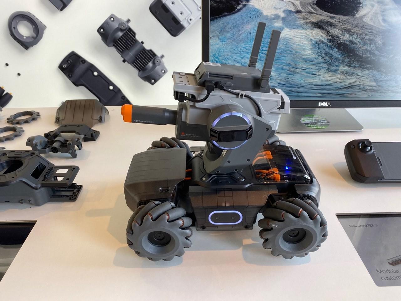 Robomaster S1, análisis: el primer robot educativo de DJI es un arma para aprender a programar